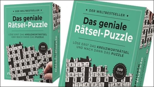 """5x 1 """"Das geniale Rätsel-Puzzle"""" zu gewinnen!"""