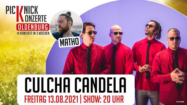 1x 2 Tickets für Culcha Candela